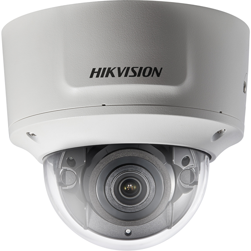 Hikvision EasyIP 3.0 DS-2CD2745FWD-IZS 4 Megapixel Network Camera - Dome - 30 m Night Vision - H.265, H.264, Motion JPEG, H.264+, H.265+ - 2688 x 1520 - 4.3x Optical - CMOS - Pendant Mount, Wall Mount, Pole Mount, Corner Mount, Ceiling Mount