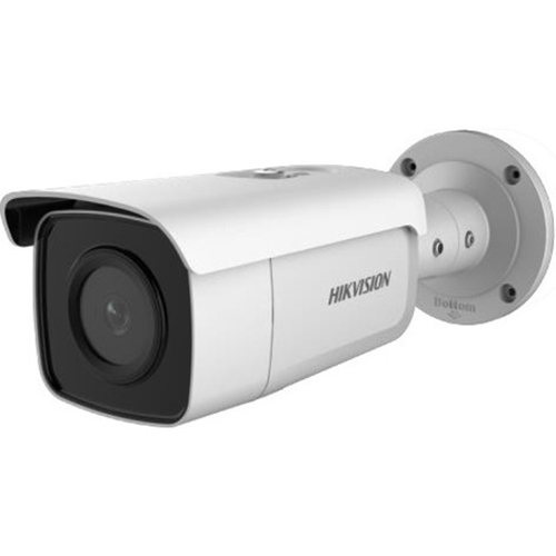 Hikvision EasyIP DS-2CD2T86G2-4I 8 Megapixel Network Camera - Bullet - 80 m Night Vision - H.264+, H.264, MJPEG, H.265, H.265+ - 3840 x 2160 - CMOS - Pole Mount, Corner Mount, Junction Box Mount