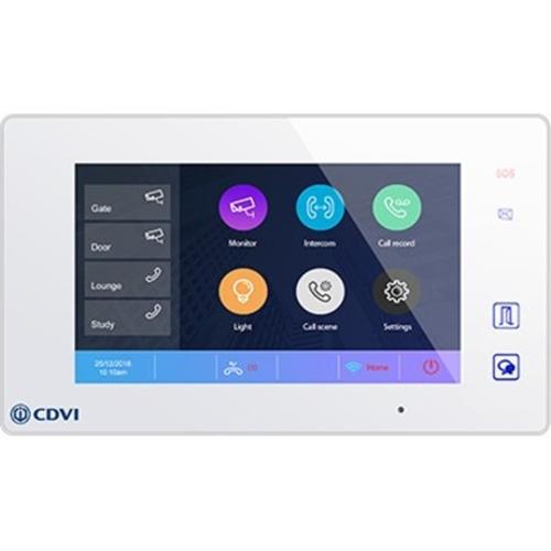 "CDVI CDV47DX 17.8 cm (7"") Video Door Phone - Touchscreen TFT LCD"