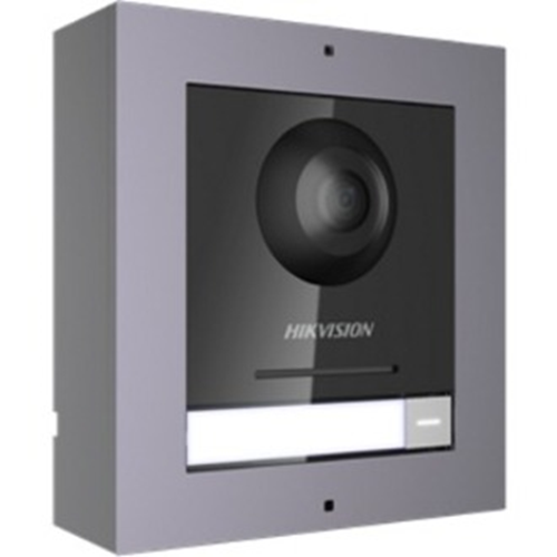 Hikvision DS-KD8003-IME1/Surface Video Door Phone Sub Station - 2 Megapixel - CMOS - 180° Horizontal - 96° Vertical - Door Entry, House, Apartment