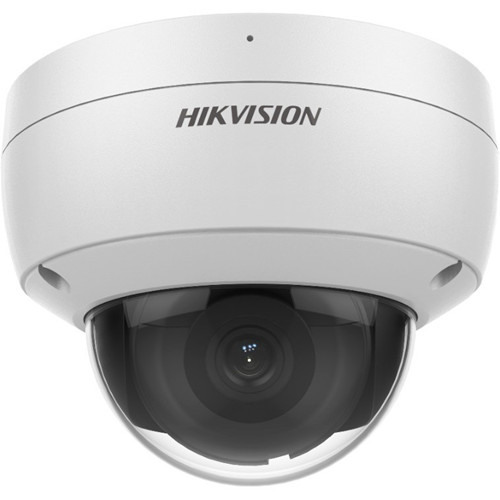 Hikvision AcuSense DS-2CD2146G2-ISU 4 Megapixel Network Camera - Dome - 30 m Night Vision - H.264+, H.264, MJPEG, H.265, H.265+ - 2592 x 1944 - CMOS - Wall Mount, Junction Box Mount, Pole Mount, Corner Mount, Pendant Mount