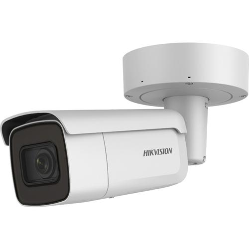 Hikvision EasyIP DS-2CD2686G2-IZS 8 Megapixel Network Camera - Bullet - 60 m Night Vision - H.264+, H.264, MJPEG, H.265, H.265+ - 3840 x 2160 - 4.3x Optical - CMOS - Pole Mount, Corner Mount, Column Mount