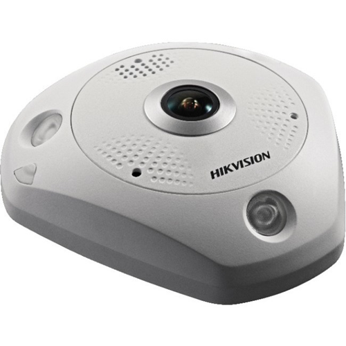 Hikvision DeepinView DS-2CD6365G0-IS 6 Megapixel Network Camera - Fisheye - 15 m Night Vision - H.264+, MJPEG, H.264, H.265, H.265+ - 3072 x 2048 - CMOS - Wall Mount, Ceiling Mount, Junction Box Mount, Pendant Mount