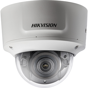 Hikvision EasyIP DS-2CD2745FWD-IZS 4 Megapixel Network Camera - Dome - 30 m Night Vision - H.264+, H.264, MJPEG, H.265, H.265+ - 2688 x 1520 - 4.3x Optical - CMOS - Wall Mount, Ceiling Mount, Pendant Mount, Corner Mount, Pole Mount