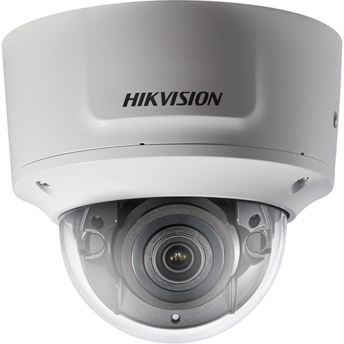 Hikvision EasyIP DS-2CD2765G0-IZS 6 Megapixel Network Camera - Dome - 30 m Night Vision - H.264+, MJPEG, H.264, H.265, H.265+ - 3072 x 2048 - 4.3x Optical - CMOS - Pendant Mount, Wall Mount, Pole Mount, Corner Mount, Ceiling Mount