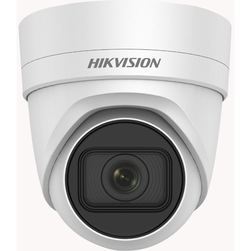 Hikvision EasyIP DS-2CD2H63G0-IZS 6 Megapixel Network Camera - Turret - 30 m Night Vision - H.264, H.265, MJPEG, H.264+, H.265+ - 3072 x 2048 - 4.3x Optical - CMOS - Wall Mount, Pendant Mount, Ceiling Mount, Corner Mount, Junction Box Mount, Surface Mount, Pole Mount