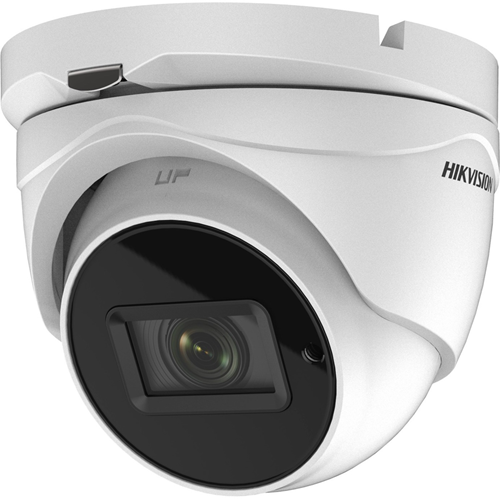 Hikvision Turbo HD DS-2CE79H8T-AIT3ZF 5 Megapixel Surveillance Camera - Turret - 60 m Night Vision - 2560 x 1944 - 5x Optical - CMOS - Wall Mount, Pole Mount, Corner Mount, Junction Box Mount, Ceiling Mount, Pendant Mount
