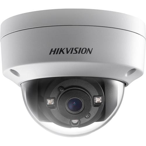 Hikvision Turbo HD DS-2CE56D8T-VPITE 2 Megapixel Surveillance Camera - Dome - 30 m Night Vision - 1920 x 1080 - CMOS - Ceiling Mount, Pendant Mount, Pole Mount, Junction Box Mount, Wall Mount