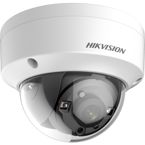 Hikvision Turbo HD DS-2CE56D8T-VPITF 2 Megapixel Surveillance Camera - Dome - 30 m Night Vision - 1920 x 1080 - CMOS - Ceiling Mount, Pendant Mount, Wall Mount, Pole Mount, Junction Box Mount