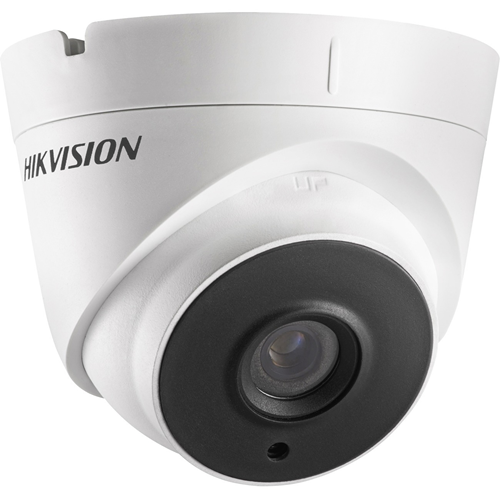 Hikvision Turbo HD DS-2CE56H0T-IT3F 5 Megapixel Surveillance Camera - Turret - 40 m Night Vision - 2560 x 1944 - CMOS - Wall Mount, Pole Mount, Corner Mount, Conduit Mount, Ceiling Mount, Junction Box Mount, Pendant Mount