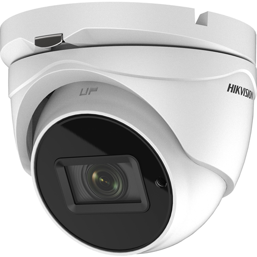 Hikvision Turbo HD Value DS-2CE56H0T-IT3ZF 5 Megapixel Surveillance Camera - Turret - 40 m Night Vision - 2560 x 1944 - 5x Optical - CMOS - Wall Mount, Pole Mount, Corner Mount, Junction Box Mount, Ceiling Mount