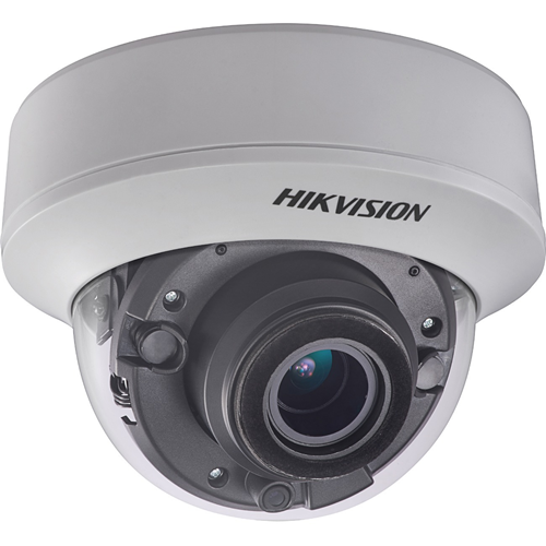 Hikvision Turbo HD Value DS-2CE56H0T-ITZE 5 Megapixel Surveillance Camera - Dome - 40 m Night Vision - 2560 x 1944 - 5x Optical - CMOS - Wall Mount, Pole Mount, Corner Mount, Pendant Mount, Ceiling Mount