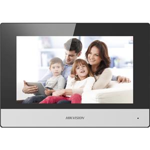 """Hikvision DS-KH6320-WTE2 17.8 cm (7"""") Video Door Phone - Touchscreen TFT LCD - Indoor"""