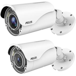 Pelco Sarix IBP331-1ER 3 Megapixel Network Camera - Bullet - 50 m Night Vision - H.264, H.265, Motion JPEG - 2048 x 1536 - 4.3x Optical - CMOS - Pole Mount, Surface Mount, Ceiling Mount