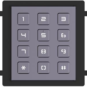 Hikvision DS-KD-KP Intercom System Keypad Module for Intercom System - Door