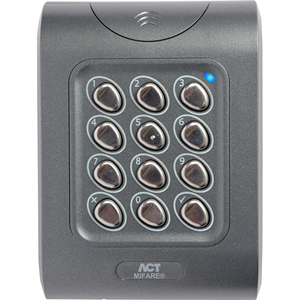 Vanderbilt ACTpro Keypad Access Device - Door - Key Code - 12 V DC - Flush Mount