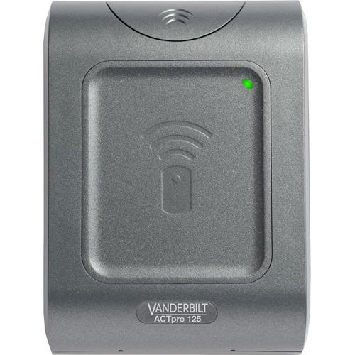 Vanderbilt ACTpro Card Reader Access Device - Door - Proximity - 12 V DC - Surface Mount, Flush Mount