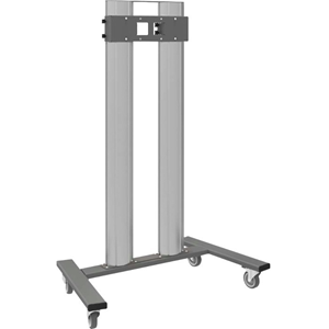 AG Neovo FMC-04 Display Stand - 160 kg Load Capacity - 210 cm Height x 145 cm Width x 85 cm Depth - Floor - Aluminium - Dark Grey