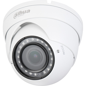 Dahua Lite DH-HAC-HDW1400R-VF 4 Megapixel Surveillance Camera - Eyeball - 30 m Night Vision - 2560 x 1440 - 5x Optical - CMOS - Junction Box Mount, Wall Mount, Pole Mount