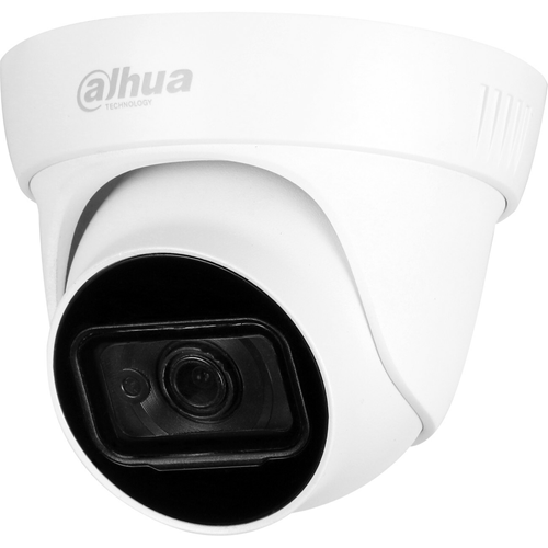 Dahua Lite Plus DH-HAC-HDW1500TL-A 5 Megapixel Surveillance Camera - Eyeball - 30 m Night Vision - 2592 x 1944 - CMOS - Junction Box Mount, Wall Mount, Pole Mount