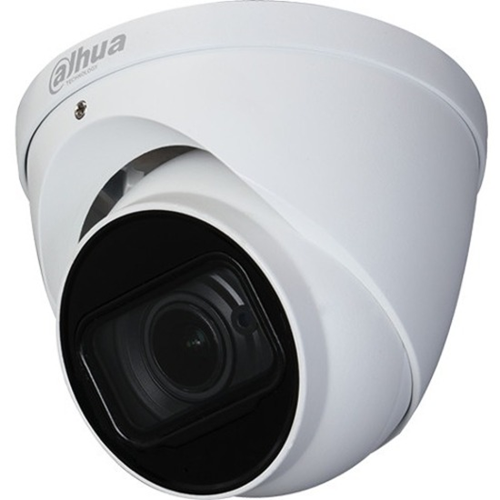 Dahua Lite DH-HAC-HDW1500T-Z-A-POC 5 Megapixel Surveillance Camera - Eyeball - 60 m Night Vision - 2592 x 1944 - 4.4x Optical - CMOS - Junction Box Mount, Pole Mount, Wall Mount