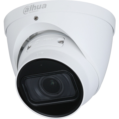Dahua Lite AI DH-IPC-HDW3541T-ZAS 5 Megapixel Network Camera - Eyeball - 40 m Night Vision - H.265, H.264, H.264H, H.264B, MJPEG, Smart H.265+, Smart H.264+ - 2592 x 1944 - 5x Optical - CMOS - Junction Box Mount, Wall Mount, Pole Mount, Ceiling Mount