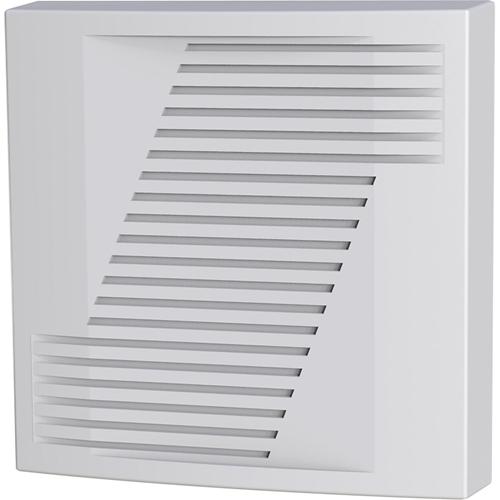 CQR Alto Security Alarm - 14 V DC - 110 dB - Audible - White