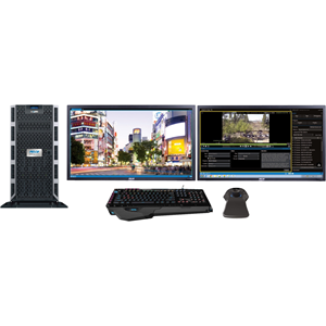 Pelco VideoXpert VXP-F2-20-J-S Wired Video Surveillance Station 20 TB HDD - Video Management System