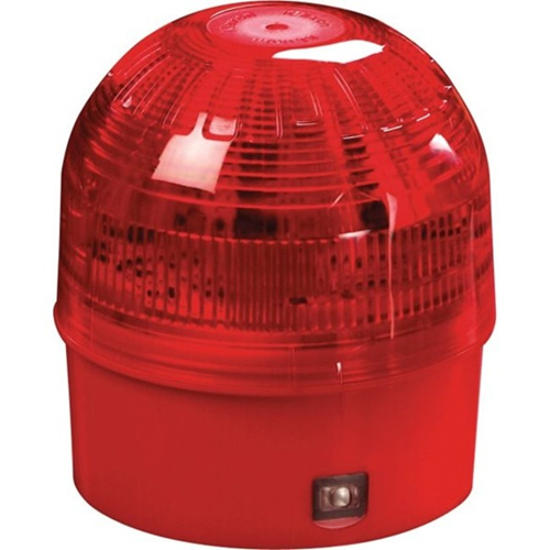 Apollo Intelligent Security Strobe Light - Wired - 28 V DC - Visual - Surface Mount - Red, Translucent, Red