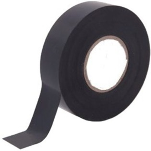 W Box Insulating Tape - 20 m Length x 19 mm Width - Flame Retardant - 1 Piece - Black