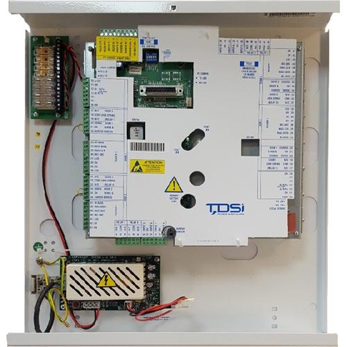 TDSi EXpert 2 IP 5002-3012 Door Access Control System - Door - Proximity - 47000 User(s) - 2 Door(s) - Ethernet - Network (RJ-45) - Serial - Wiegand - 240 V AC - Door-mountable