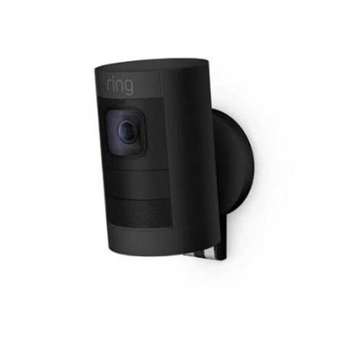 Ring Stick Up Cam Network Camera - 1920 x 1080 - Wall Mount, Ceiling Mount - Alexa Supported