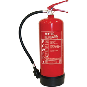 TG Fire Extinguisher - Water - A: Common Combustibles
