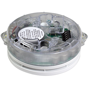 C-TEC ActiV Sounder - Wired - 30 V DC - 96 dB(A) - Audible - Ceiling Mountable, Stand Mount - White