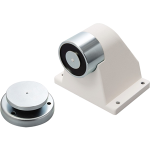 Cranford Controls Floor Doorstop - Floor Mountable - Vandal Resistant, Damage Resistant, Magnetic - Metal, Cast Aluminum