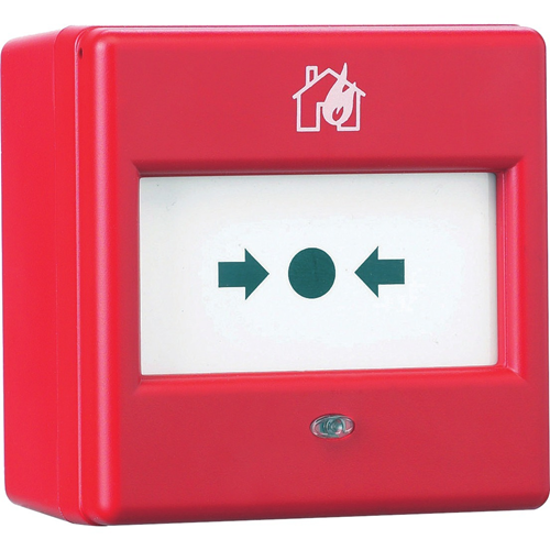 Eaton BiWire EF203BWCPWP Manual Call Point For Fire Alarm - Red - ABS Plastic