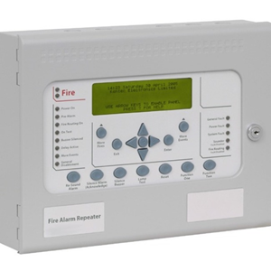 Kentec Syncro View Control Panel Active Repeater - For Fire Alarm Control Panel - Light Grey - Steel