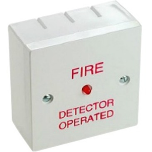 Cranford Controls RIU Alarm Action Indicator - Wired - 28 V DC - Audible - Surface Mount - White