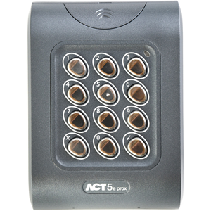 Vanderbilt Card Reader/Keypad Access Device - Door - Proximity, Key Code - 128 User(s) - 1 Door(s) - 24 V DC - Standalone, Surface Mount, Flush Mount