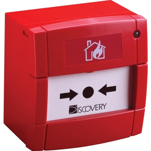 Apollo Discovery Manual Call Point For Fire Alarm, Indoor - Red - Polycarbonate