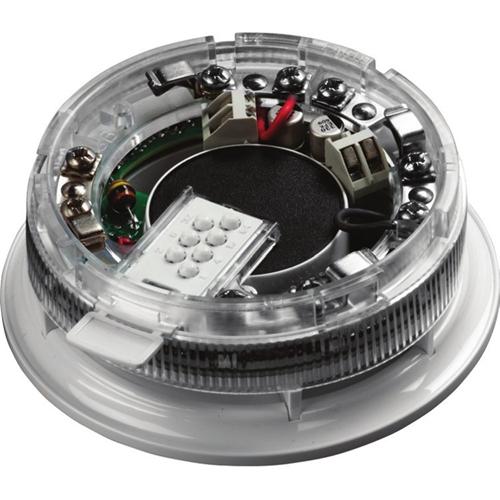 Apollo Addressable Sounder Base for Alarm System, Fire Detection System - Hospital, Nursing Home, School - Polycarbonate - White