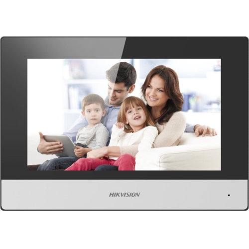 """Hikvision DS-KC001 17.8 cm (7"""") Video Master Station - Touchscreen TFT LCD - Indoor"""