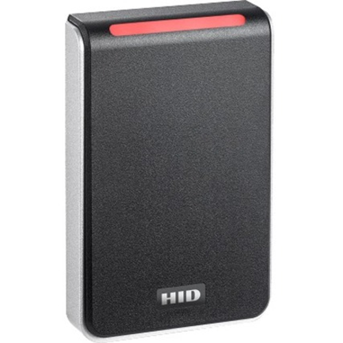 HID Signo 40 Contactless Smart Card Reader - Black, Silver - CablePigtail
