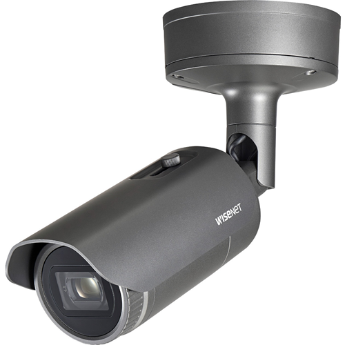 Hanwha Techwin WiseNet XNO-6120R 2 Megapixel Network Camera - Bullet - 70 m Night Vision - H.265, H.264, MJPEG, H.264 (MPEG-4 Part 10/AVC) - 1920 x 1080 - 12x Optical - CMOS - Board-in Type