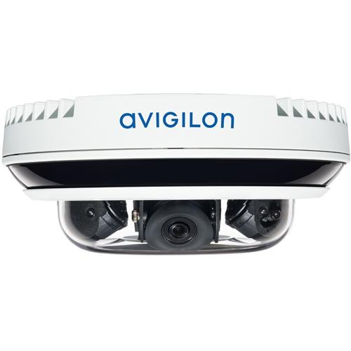 AVIGILON H4 Multisensor Camera 5 Megapixel Network Camera - Dome - MJPEG, Smart H.264, Smart H.265 - 2592 x 1944 - CMOS - In-ceiling, Wall Mount, Pendant Mount, Surface Mount, Ceiling Mount, Pole Mount