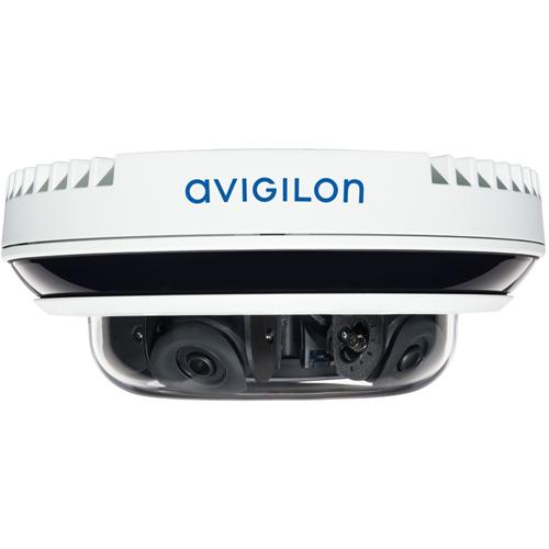 AVIGILON H4 Multisensor Camera 8 Megapixel Network Camera - Dome - MJPEG, Smart H.264, Smart H.265 - 3840 x 2160 - CMOS - In-ceiling, Wall Mount, Pendant Mount, Surface Mount, Ceiling Mount, Pole Mount