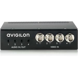 AVIGILON Video Encoder - Rack-mountable - Functions: Audio Compression, Video Capturing, Video Encoding - BNC - 720 x 576 - NTSC/PAL - H.264, MPEG-4, MJPEG - Network (RJ-45) - Audio Line In - Audio Line Out
