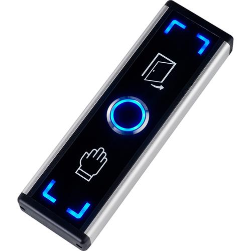 Elmdene Touch-free Button For Door - Blue, Green - Aluminium