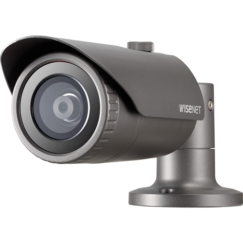 Wisenet QNO-6032R 2 Megapixel Network Camera - Bullet - 30 m Night Vision - H.264, Motion JPEG, H.265 - 1920 x 1080 - CMOS - Box Mount, Pole Mount