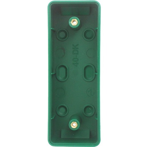 CQR Mounting Box for Emergency Button - Green